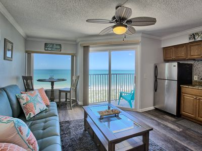 Photo for Beautiful freshly remodeled beachfront condo