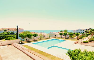 Photo for Ground floor, surrounded by gardens, pool and sea views. HUTB-013 720