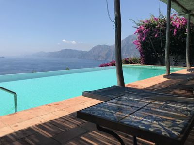 Photo for Il Mulino is a beautiful villa on the Amalfi Coast with a private, infinity pool