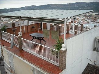 External view of Roof Terrace and Sea View