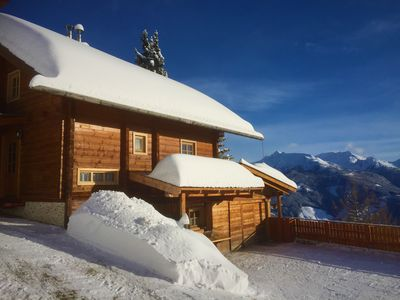 Photo for LUXURY ALMHAUS with fantastic wellness area at 1850 m above sea level