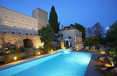 Photo for Authentic villa with private pool in secluded countryside