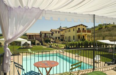 Photo for Apartment Borgo Le Capannelle Holiday House Umbria