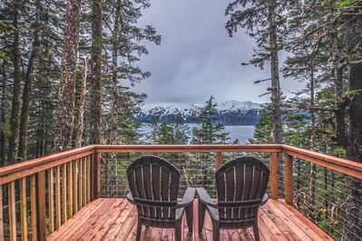 Large 12 x 16' deck to enjoy the incredible view!