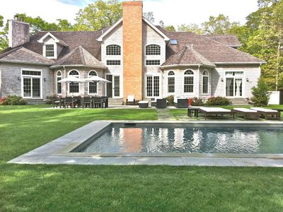 Photo for East Hampton Summer Rental- 6 Bed 6.5 Bath  Estate- Beautifully Furnished