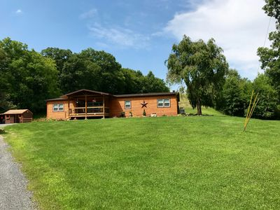 Photo for Little Bear Lodge with Babbling Brook on 3+ Acres Lehigh Valley/Allentown, PA
