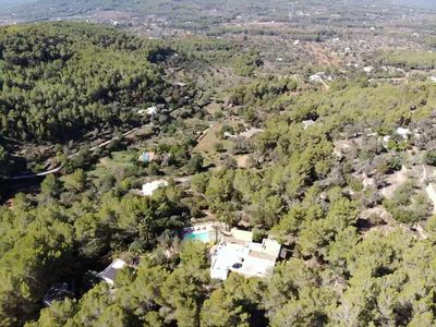 Photo for Villa with spectacular views over the hills of Sant Joan