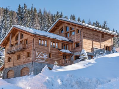 Photo for LUXURY PRIVATE CHALET IN LA PLAGNE 550M2 7CHB 14 PERS