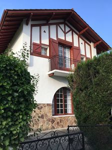 Photo for Renovated village house 10 minutes from Saint Jean de Luz Ascain Basque Country