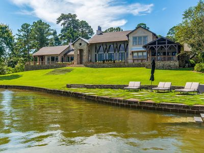 Photo for NEW LISTING: Gorgeous Luxury Home, Auburn side of Lake, Game Day