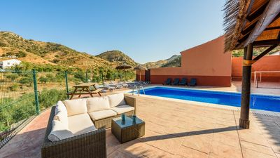 Photo for Spacious holiday villa for groups in the countryside of Malaga province