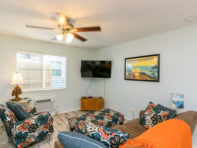 Photo for 2BR Winter Retreat w/ Outdoor Space & Ping-Pong, Near Downtown & Beach