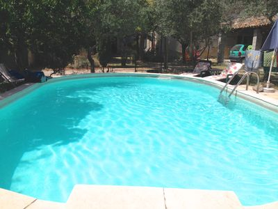 Photo for House with pool in the heart of Provence, 8 people