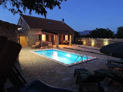 Photo for Family friendly house with a swimming pool Gluići, Krka (K-11337)