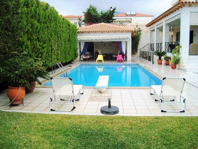 Photo for Luxury villa BLUE DOLPHINS with pool.