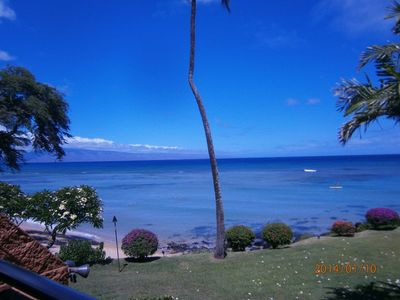 Photo for Oceanfront Unit, Lush Tropical Gardens And Amazing Views!!! Kuleana Resort #709