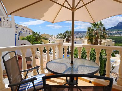 Photo for Apartment Pueblo Casanova 01 in Calpe/Calp - 4 persons, 2 bedrooms