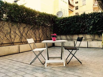Photo for 1 bedroom flat with big patio in Rome