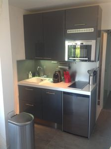 Photo for Nice little renovated apartment in the center of Boucanet (4 people)