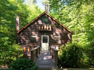 Photo for River Cabin in the Blue Ridge Mountains (Land Harbor)