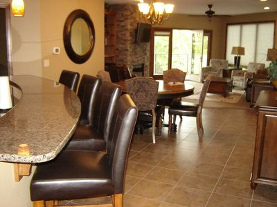 Granite countertops, tile floors, and fully furnished.