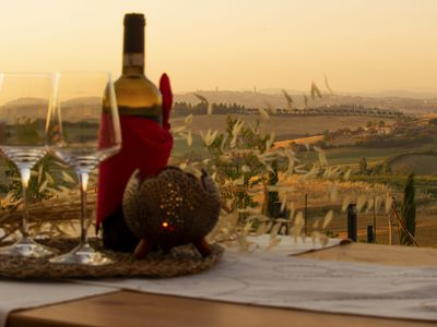 "Photo for ""Red Rose"" apartment overlooking Siena"