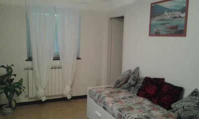 Photo for APARTMENT LEVANTO - 5 TERRE - (280mt from the beach)