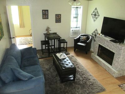 Photo for COZY Private 2- Room suite, full bath & pet friendly