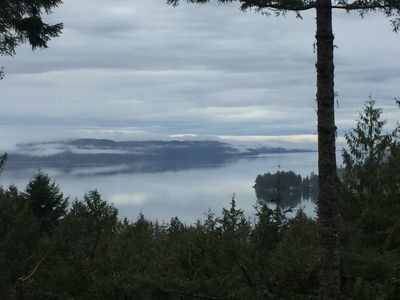 Photo for Seamount Woods Chalet with views of the hood canal while nestled in a forest