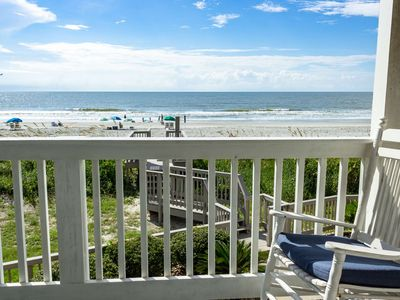 Photo for Oceanfront, 2 Bedroom, 1st floor with Water Park, Aquarium, Golf & More Every Day!