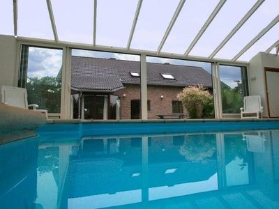 Photo for Cottage with swimming pool comprises two separate parts