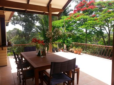 Photo for Beautiful secluded home in Mullumbimby