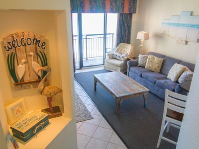 Photo for Beautiful renovated oceanfront condo with amazing views and 5 heated pools