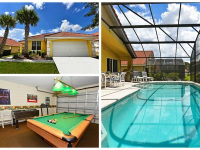 Photo for Beautiful Rental w/ Pool in Gated Resort Community minutes from WDW FREE WIFI