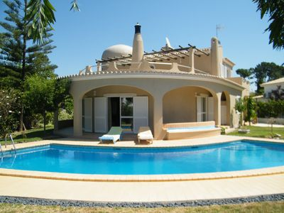Photo for Vilamoura - Spacious villa for 8 + 1, wifi, air conditioning, private pool