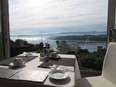 Photo for Bed & Breakfast  Superb Views over the Menai Straits & Snowdonia