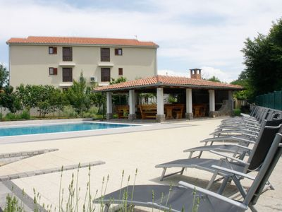 Photo for Arbanas A5, 400m to the beach,4 people,outdoor pool,free WiFi,playground,parking