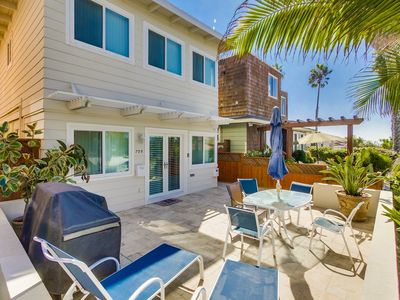 Photo for Steps to the Beach, Patio, Bikes, Grill