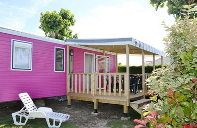 Photo for Camping Le Bel Air ***** - Mobil Home Grand Confort TV 4 Rooms 6 People