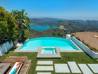 Photo for Incredible Bel Air Home With Infinity Pool, Sweeping Canyon and City Views