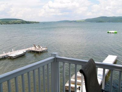 Photo for Camp Unadilla! A historic 3 Bedroom Lakefront Home 15 minutes to Cooperstown!