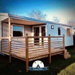 Photo for Camping Bellevue **** - 3 room mobile home 4 people