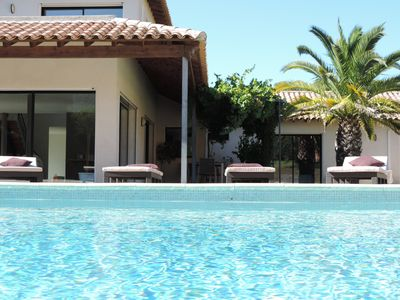 Photo for CONTEMPORARY VILLA luxury services, beautiful swimming pool 8 minutes from Cassis