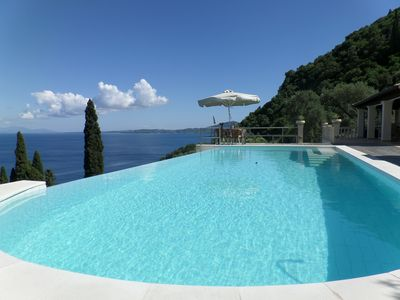 Photo for PRIVATE VILLA  -  INFINITY POOL  -  SUPER SEA VIEW  - 100%PRIVACY