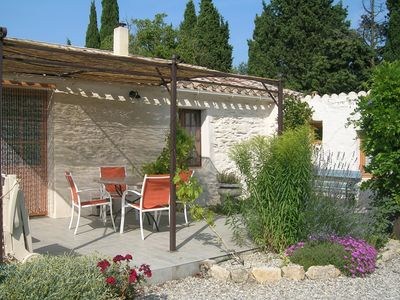Photo for Lovely stone house (2-4 persons) with garden in Villespy.