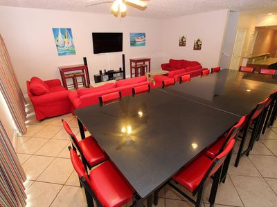 Photo for 6 Bedroom Sunrise Red Villa MBVII. Sleeps 20. Best rates and location in Bldg.