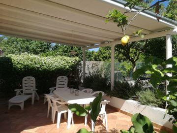 Ischia villa with garden near the bay of San Montano