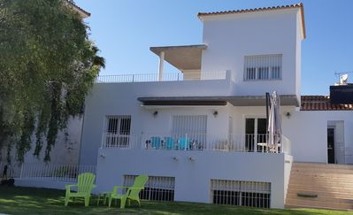 Photo for Beautiful house on the Islantilla golf course with private pool
