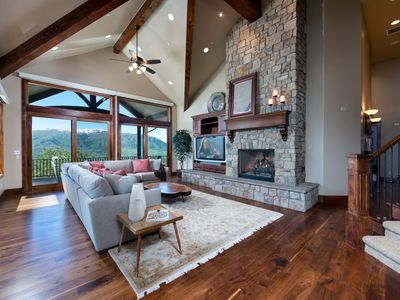 Photo for Incredible 7 Bedroom Mountain-Top Eden, Utah Vacation Home