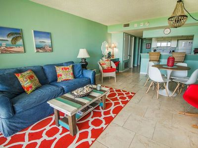 Photo for Whimsical Mermaid Charm at this 2/2 Oceanfront Condo at Cape Winds Resort